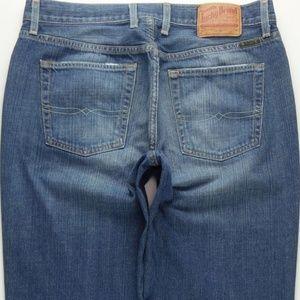 Lucky Brand Boot Cut Jeans Men's 34 Blue B418